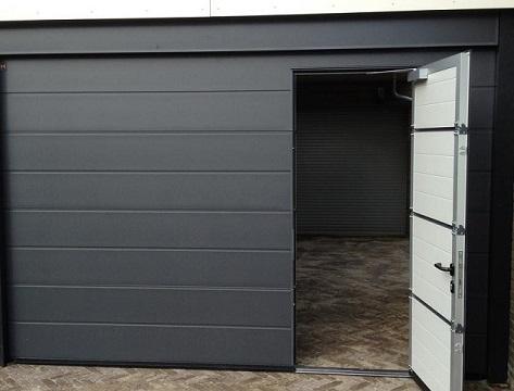 Een garagepoort op maat